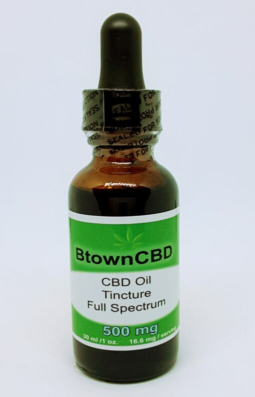 CO grown and produced 500 mg CBD Oil Full Spectrum 30 ml