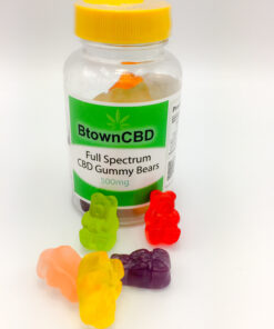 500 mg CBD Gummy Bears Full Spectrum