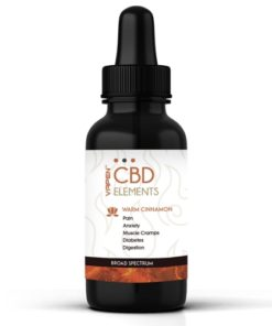 Warm Cinnamon 500 mg CBD Tincture Broad Spectrum