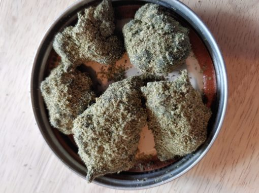 60% CBD Moon Rocks Indoor Special Sauce Kief